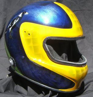 O.S.C.A.Driver's Helmet for car being built