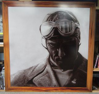 Portrait of famous '30's Race car driver Tazio Nuvolari