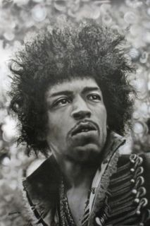 Jimi Hendrix portrait for Holly's partner Jimi