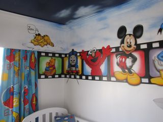 Mark and Penny Smith sons themed bedroom