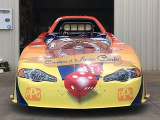 Countess of Monte Carlo Alcohol Funny Car