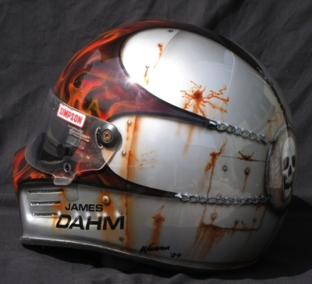 James Dahm's Sprint Car Helmet
