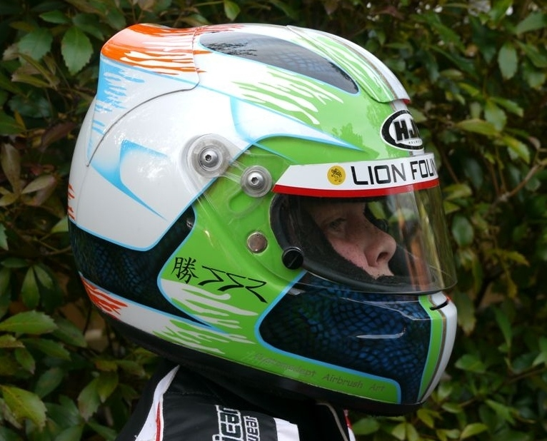 HJC Wet Weather Helmet for Jake!!!