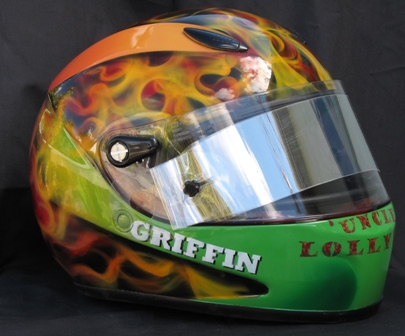 Mini Sprint Drivers Helmet