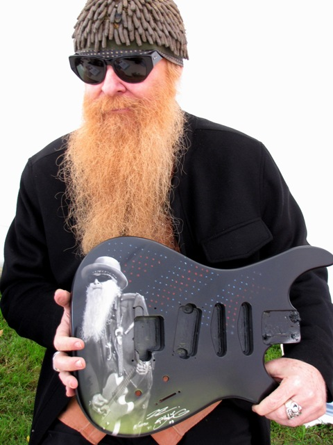 Billy Gibbons Guitar