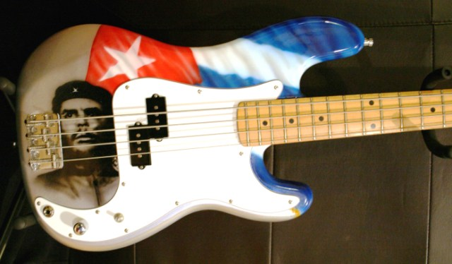 Mike's Bass Guitar