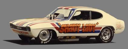 Maurice Hipperson's Shady Lady 1 Funny car