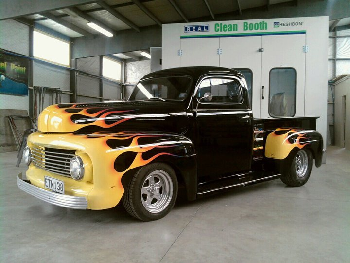 Beach Hop Truck Flames